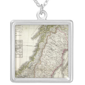 Schweden, Norwegen - Sweden, Norway Silver Plated Necklace