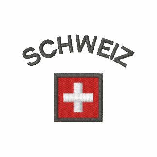 Schweiz Jogger Jacket With Switzerland Pocket Flag
