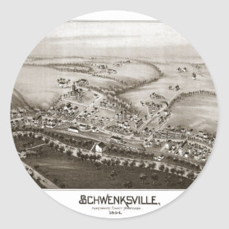 Schwenksville Round Sticker