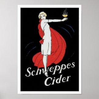 Schweppes Cider Poster