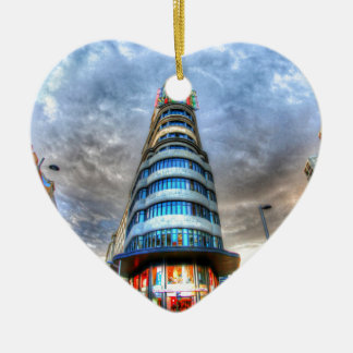 Schweppes Tower Ceramic Heart Decoration