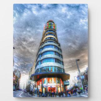 Schweppes Tower Plaque