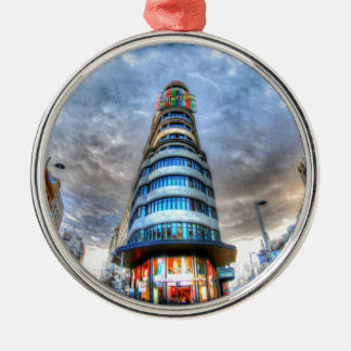 Schweppes Tower Silver-Colored Round Decoration