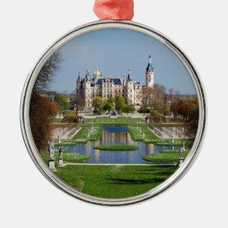 Schwerin castle christmas ornament