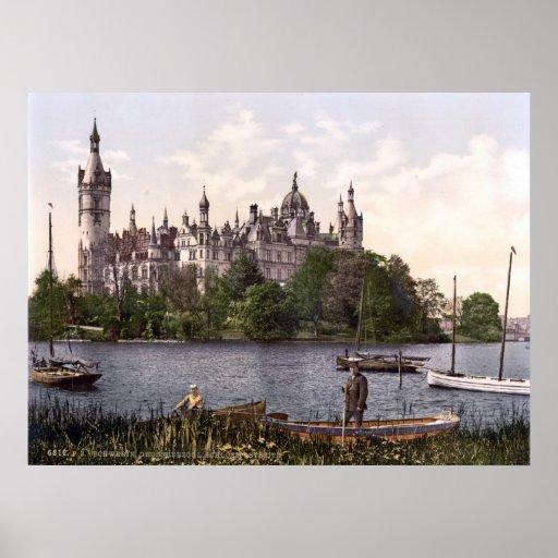 Schwerin Castle Poster