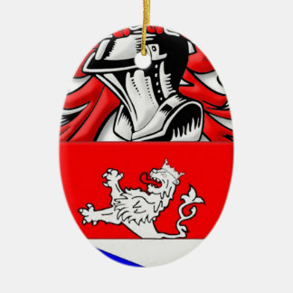 Schwin Coat of Arms Christmas Ornament