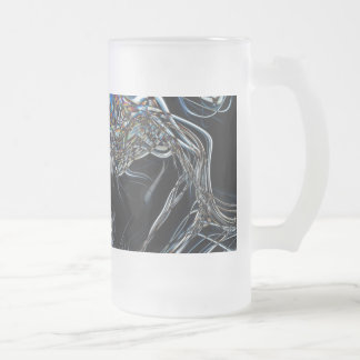 Sci-Fi Abstract Beer Mugs