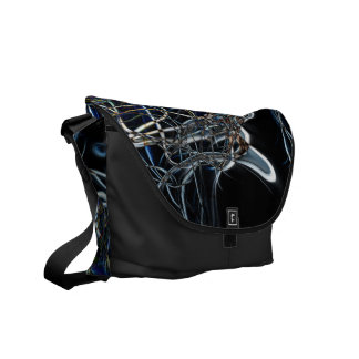 Sci-Fi Abstract Courier Bag