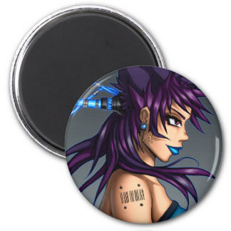 Sci-Fi Anime Girl Magnets