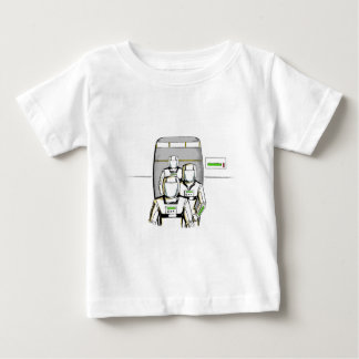 Sci-Fi Astronauts Baby T-Shirt