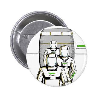 Sci-Fi Astronauts Buttons