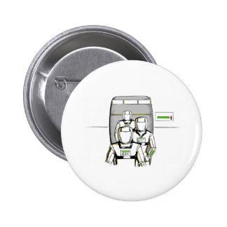 Sci-Fi Astronauts Pinback Buttons