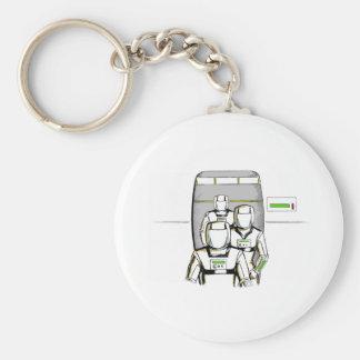 Sci-Fi Astronauts Keychain