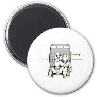 Sci-Fi Astronauts Magnet