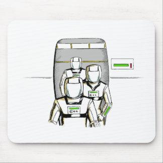 Sci-Fi Astronauts Mousepad