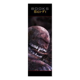 Sci-Fi Bookmark - Assassin Business Card Template
