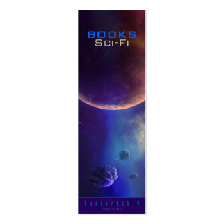 Sci-Fi Bookmark Pack Of Skinny Business Cards