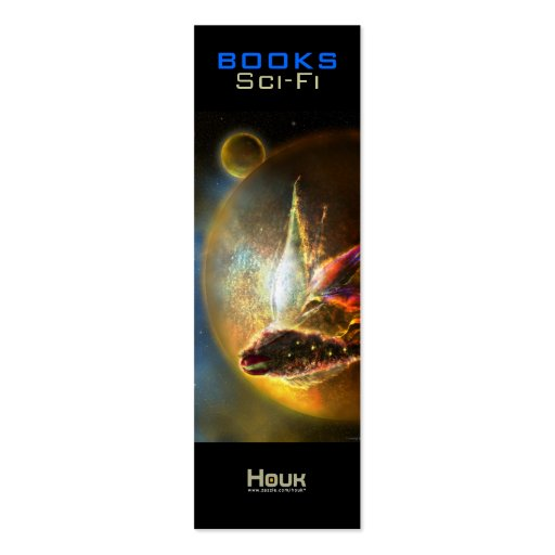 Sci-Fi Bookmark - Wenderer II Business Card