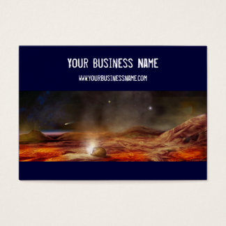 Sci-Fi Business Card (3.5x2)