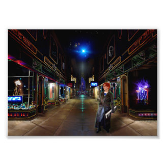 Sci-Fi City Photo Print