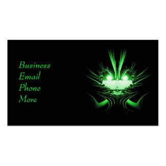 Sci-Fi Creature Green Business Card