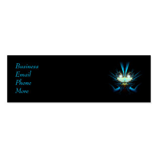 Sci-Fi Creature Profile Card Business Card