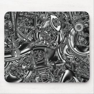 Sci fi fractal art mouse pad