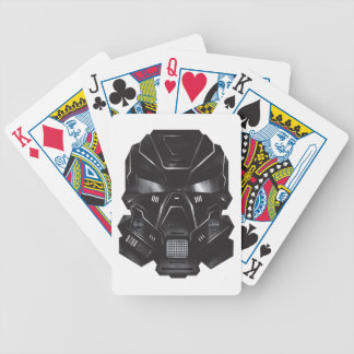 sci-fi geek concept art helmet design bicycle playing cards