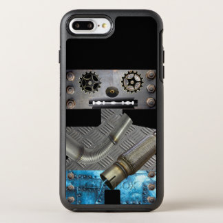 Sci Fi Metal Robot Iphone Case