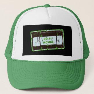 Sci-Fi-Movies Black & Green Trucker Hat