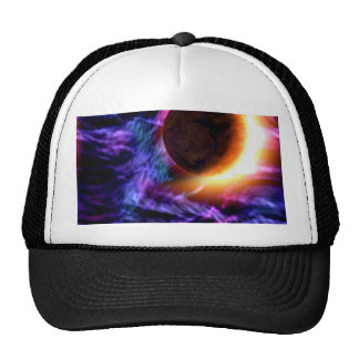 Sci-Fi Space Scene Trucker Hats