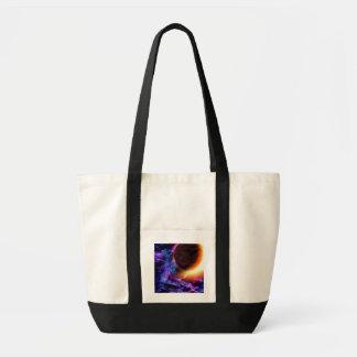 Sci-Fi Space Scene Impulse Tote Bag