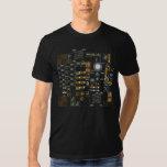 Sci-Fi Streetwear Human-Computer Interface Tee Shirts