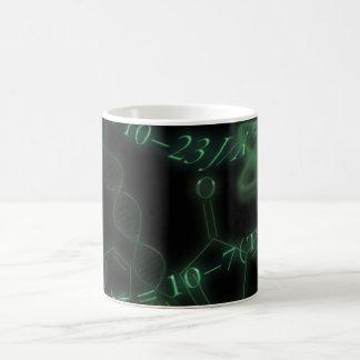 Science 101 green basic white mug