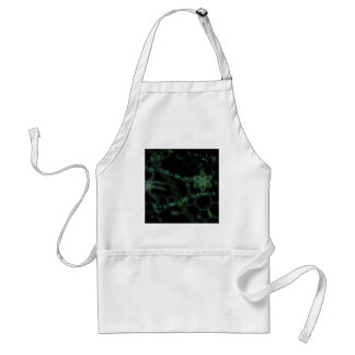 Science 101 green standard apron