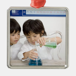 science 2 christmas ornament