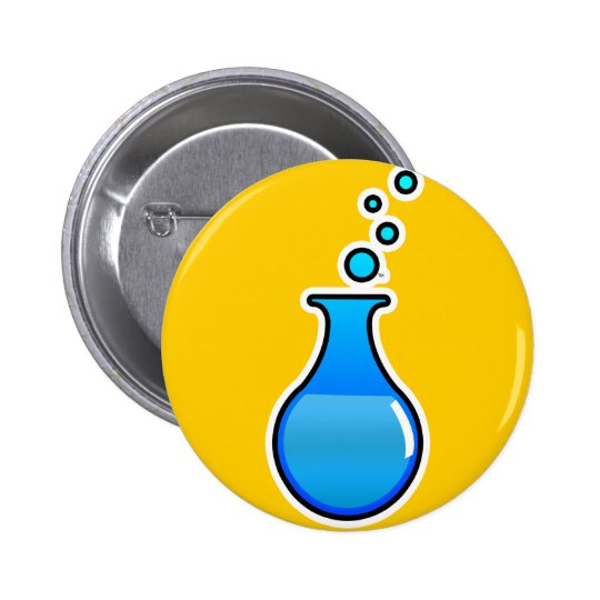 Science 6 Cm Round Badge