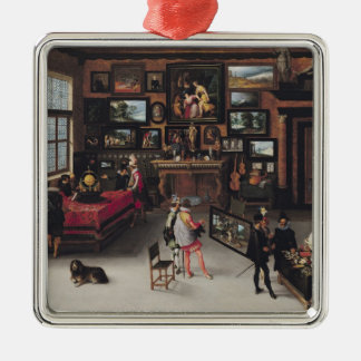 Science and the Arts Christmas Ornament