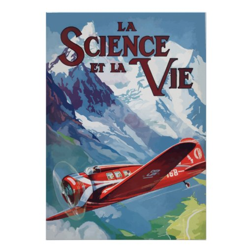Science and the Life (France - 1932) Posters
