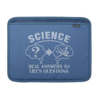 "Science Answers custom 13"" MacBook sleeve"
