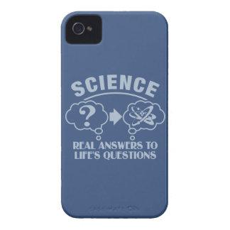 Science Answers custom Blackberry case