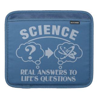 Science Answers custom iPad sleeve