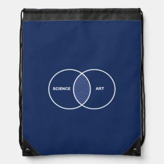 Science / Art Venn Diagram Backpack