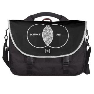 Science / Art Venn Diagram Bag For Laptop