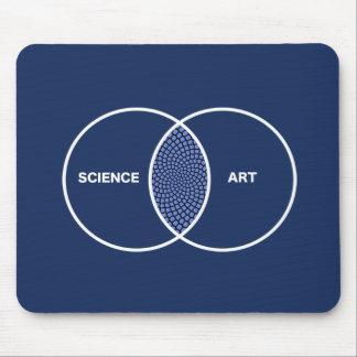 Science / Art Venn Diagram Mouse Mat