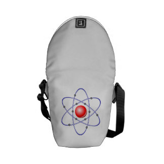 Science Atom Diagram Courier Bags