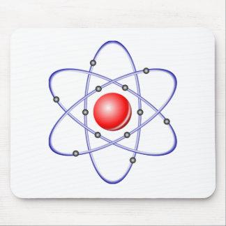 Science Atom Diagram Mouse Pad