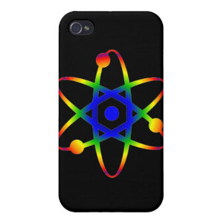 science atom iPhone 4/4S covers