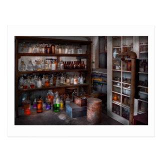 Science - Chemist - The secret of life Post Card