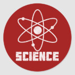 Science Classic Round Sticker